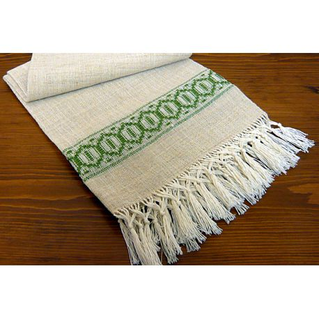 Towels with fringe