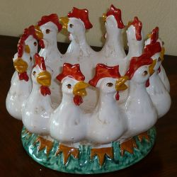 "Centre-piece ""The Cocks"""