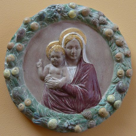 "Tondo ""Madonna with Child and Angels"""