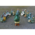 Musician Frogs Orchestra