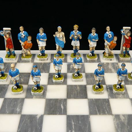 "Chess Football ""Blue Team"""
