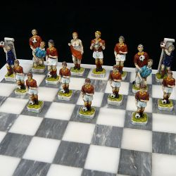 """Chess Football """"Red Yellow Team"""""""