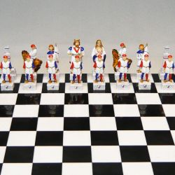 "Palio of Siena chess ""Istrice - Porcupine"""