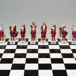 """Palio of Siena chess """"Torre - Tower"""""""