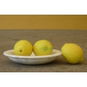 Fruit tray in White Carrara marble